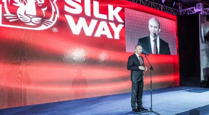 Kínában is bemutatkozott a Silk Way Rally