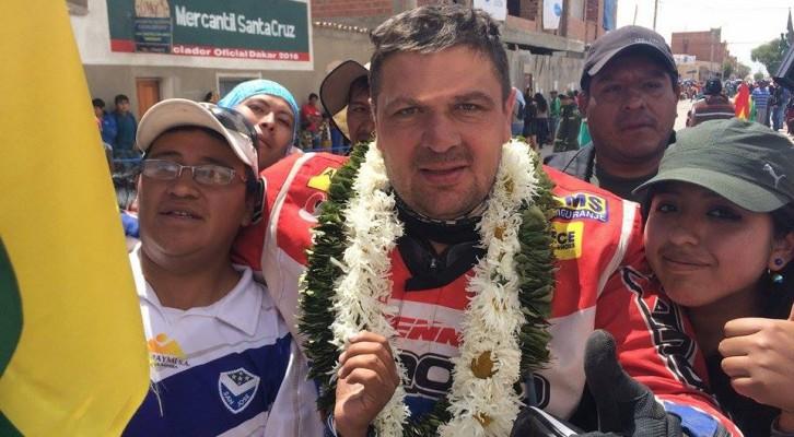 Dakar 2016: Saghmeister Gábor nyilatkozata (videó)