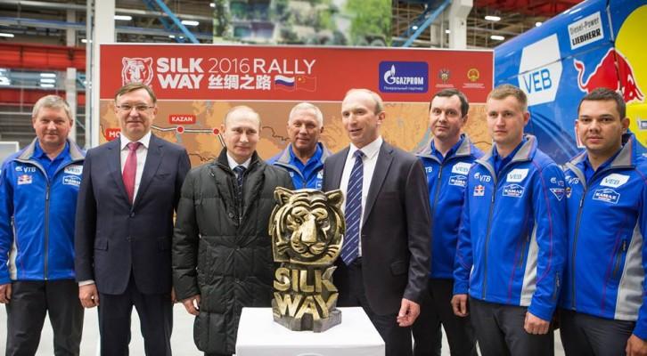 Putyin sok sikert kívánt a Silk Way Rally szervezőinek